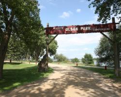 olson park and campground city of worthington minnesota